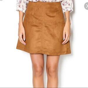 Sanctuary suede mini skirt size XS